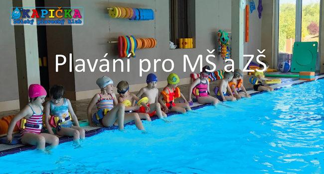 Kapička dětský plavecký klub - Plavání pro MŠ a ZŠ