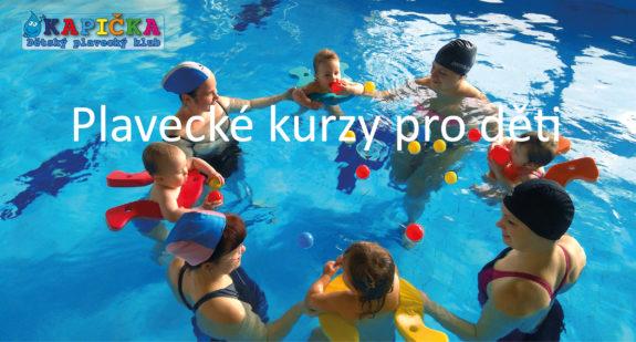 Kapička dětský plavecký klub - dětské pavecké kurzy