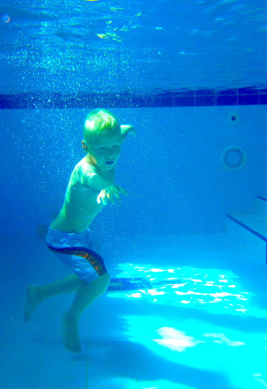 Kapička dětský plavecký klub potápění 2
