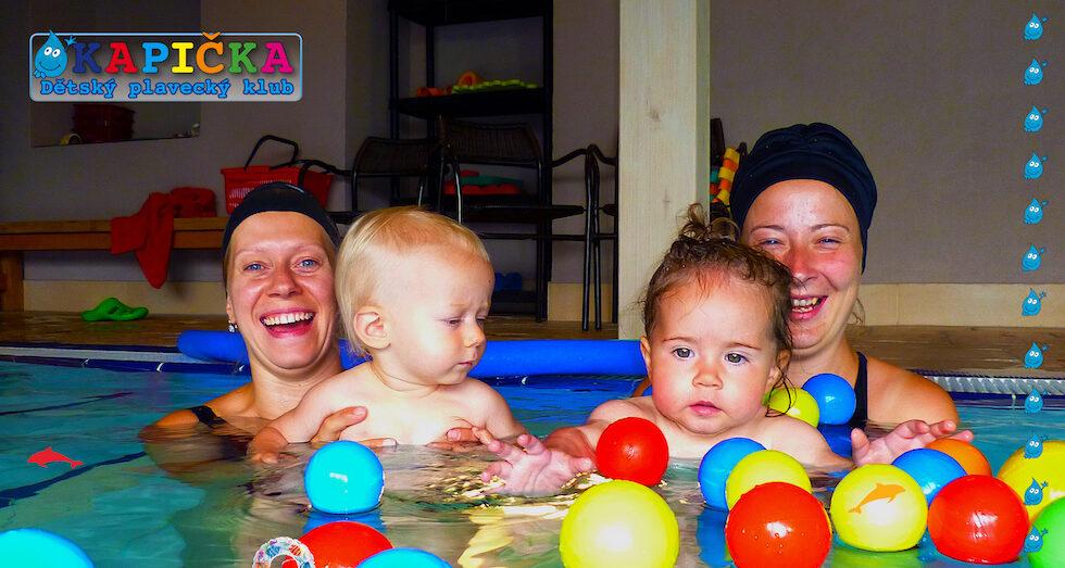 dětský plavecký klub Kapička podzimní kurzy plavání pro děti 20107