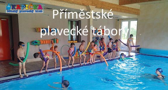 Kapička dětský plavecký klub - Příměstské plavecké tábory